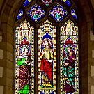 Holy Cross Church, Stained Glass by John (Mike)  Dobson