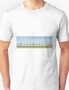 Deserted beach. Unisex T-Shirt