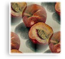 Millions of Peaches Canvas Print
