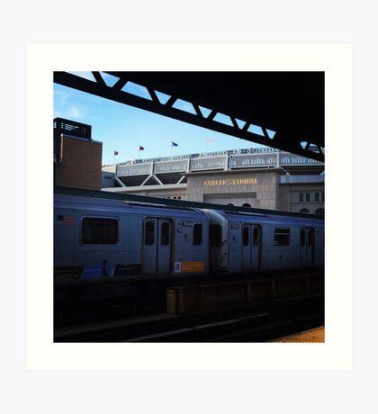 Yankee Stadium Subway Station Art Print