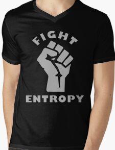 FIGHT ENTROPY Mens V-Neck T-Shirt