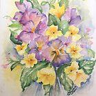 Bouquet of flowers by ISABEL ALFARROBINHA