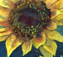 Sunflower watercolour painting Sticker