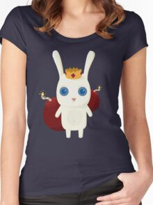 King Rabbit - Bombs! Women's Fitted Scoop T-Shirt