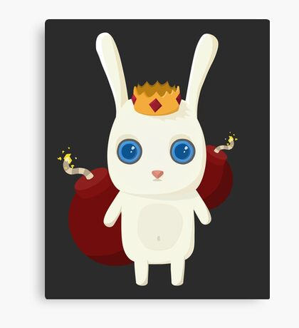 King Rabbit - Bombs! Canvas Print