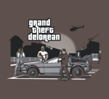 Grand Theft Delorean T-Shirt