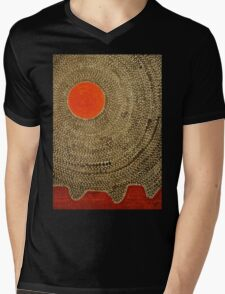Sun Valley original painting Mens V-Neck T-Shirt