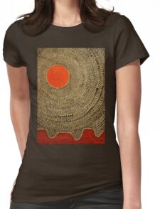 Sun Valley original painting Womens Fitted T-Shirt