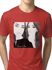 CAMREN IS REAL Tri-blend T-Shirt