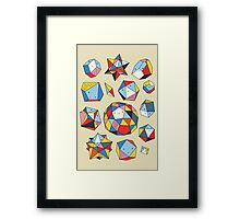 Power rocks Framed Print