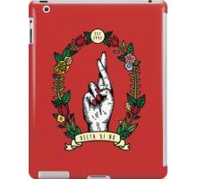 DXN & Tulips iPad Case/Skin