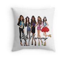 FIFTH HARMONY CUTE CARTOON Throw Pillow