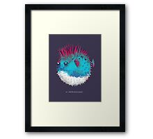 Punk Fish Framed Print