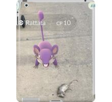 pokemon go is real! iPad Case/Skin