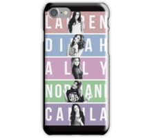 FIFTH HARMONY MEMBER'S NAME iPhone Case/Skin