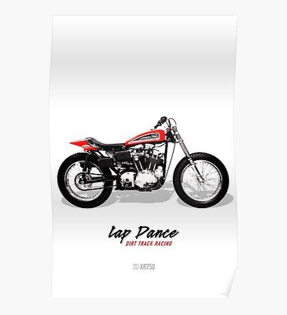 Harley Davidson XR750 FLAT TRACK Poster