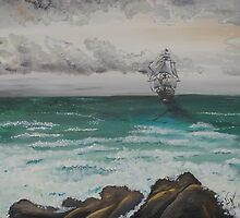 The Galleon by Wendy Crouch