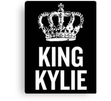 King Kylie (White) Canvas Print