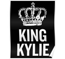 King Kylie (White) Poster
