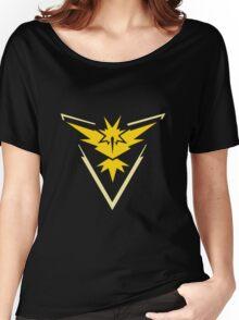 TEAM VALOR LOGO - POKEMON GO Women's Relaxed Fit T-Shirt