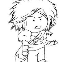Adventure, Chibi, Anime  by LazySamurai