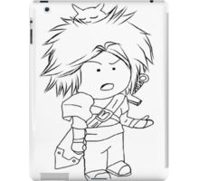 Adventure, Chibi, Anime  iPad Case/Skin