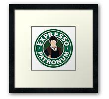 Expresso Patronum Framed Print
