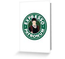 Expresso Patronum Greeting Card