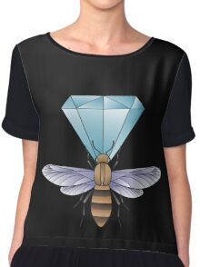 Bumblebee and diamond. Chiffon Top