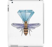Bumblebee and diamond. iPad Case/Skin