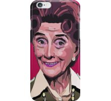 Dot Cotton, Eastenders legend iPhone Case/Skin
