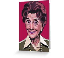 Dot Cotton, Eastenders legend Greeting Card
