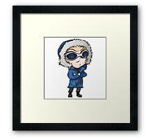 Captain Cold Chibi Framed Print