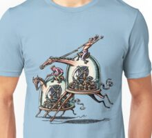 Stock Ticker Horse Race Unisex T-Shirt