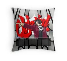 This pillow is... Objectionable Throw Pillow