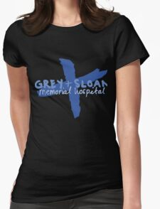 Grey + Sloan Womens Fitted T-Shirt
