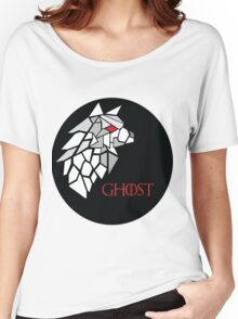 Direwolf - Ghost Women's Relaxed Fit T-Shirt
