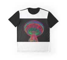 Space Wheel Graphic T-Shirt