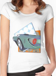 2016 GT Supercar  Women's Fitted Scoop T-Shirt