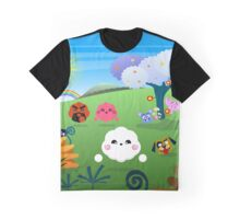 Happy Colorful Planet 01 Graphic T-Shirt