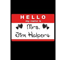 Mrs. Jim Halpert Photographic Print