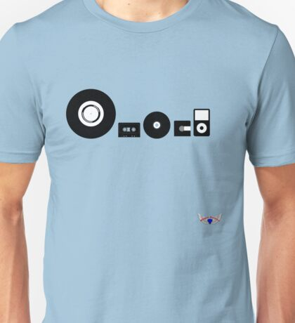 The Musical Evolution Unisex T-Shirt