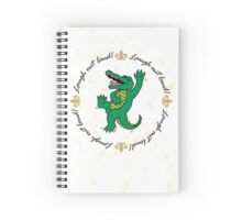 Notebook - Laughing Out Loud w/ Yellow Splatter  Spiral Notebook