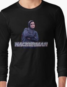 HACKERMAN -Mr Robot  Long Sleeve T-Shirt