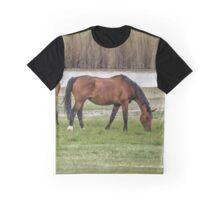 Grazing Horses Graphic T-Shirt