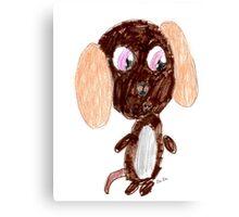 Brownie Beagle Canvas Print
