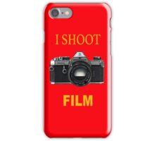 I Shoot Film iPhone Case/Skin