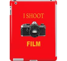 I Shoot Film iPad Case/Skin