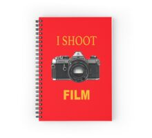 I Shoot Film Spiral Notebook