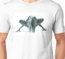 Naked Woman on the floor Unisex T-Shirt